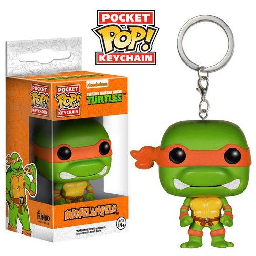 Funko POP Keychain: TMNT - Michelangelo