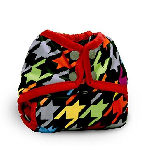 Rumparooz Newborn Cloth Diaper Cover Snap, Invader (Best Elastic For Cloth Diapers)