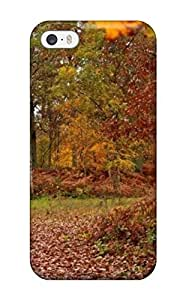 Awesome Artistic Normal Rainy Fall Day Flip Case With Fashion Design For Iphone 5/5s