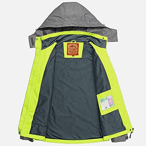 Diamond Softshell Giacca GM Candy Donne impermeabile verde impermeabile Con Sportswear cappuccio PYPwrIZ