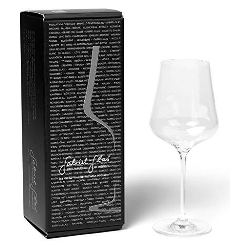 Gabriel-Glas - Single Glass - Austrian Crystal Wine Glass -