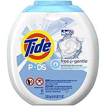 Amazon Com Tide Pods Free And Gentle Laundry Detergent