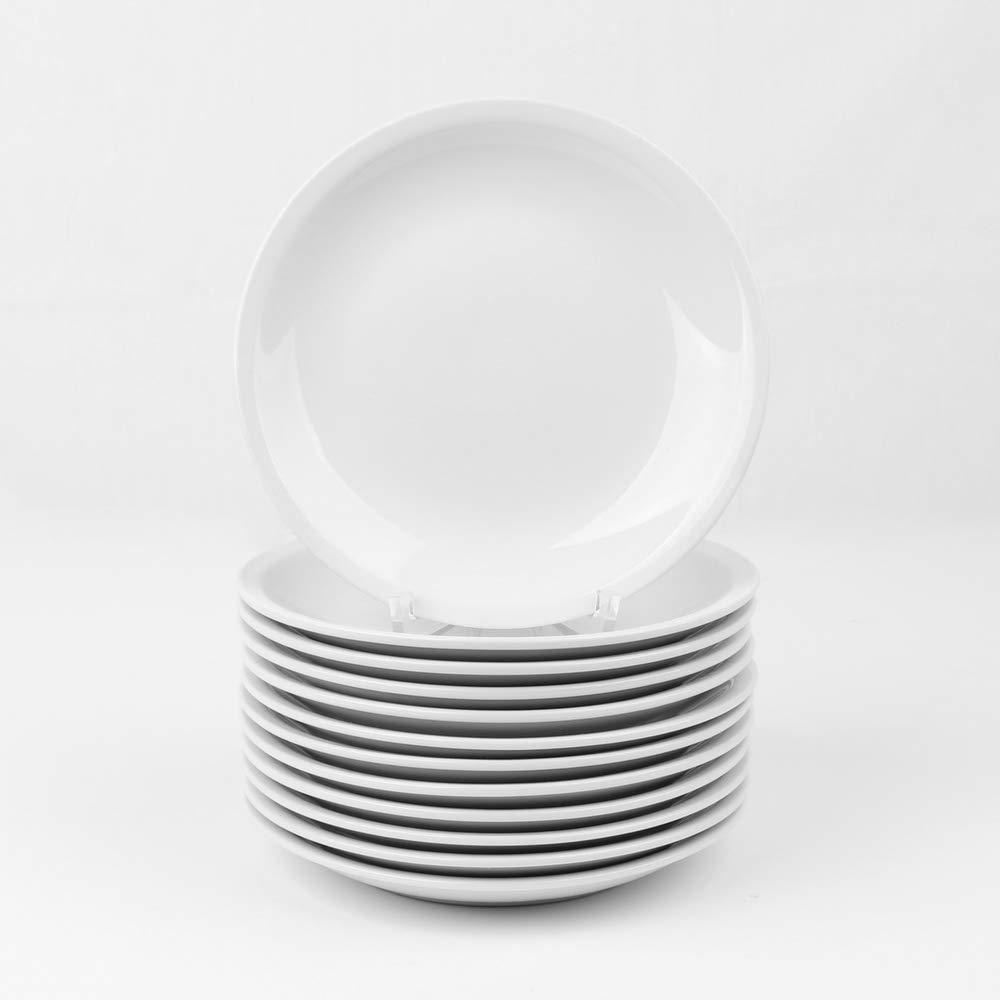Bianco Porcellana Holst Porzellan//Germany Piatto Dessert 19 Cm-Set di 12 18.7 x 18.7 x 2.2 cm
