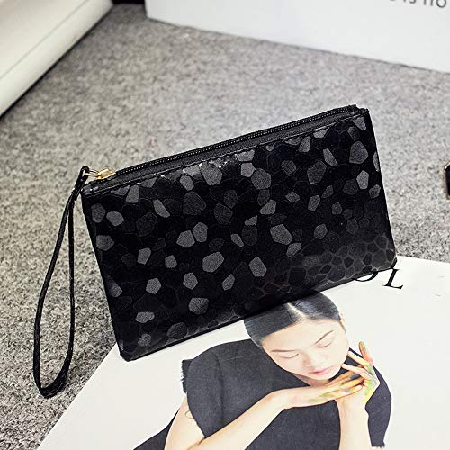 MOVEmen Handbags,Fashion Women Evening Party Clutch Bag Makeup Bag Sequins Sparkling Bling Wallet Zipper Handbag Travel Cosmetic Bag Coin Purse Jewelry Box Shopping Bag ()