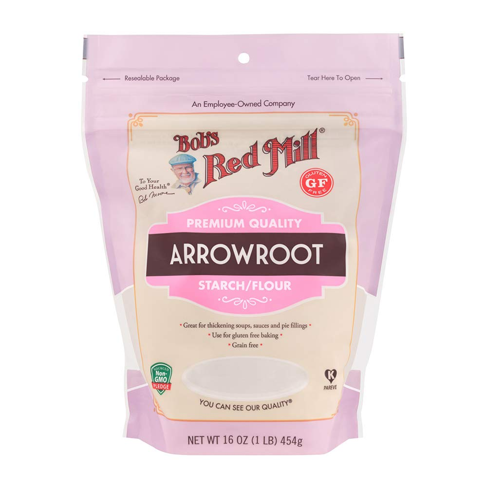 Bob's Red Mill Arrowroot Starch / Flour, 16 Ounce (Pack of 1)
