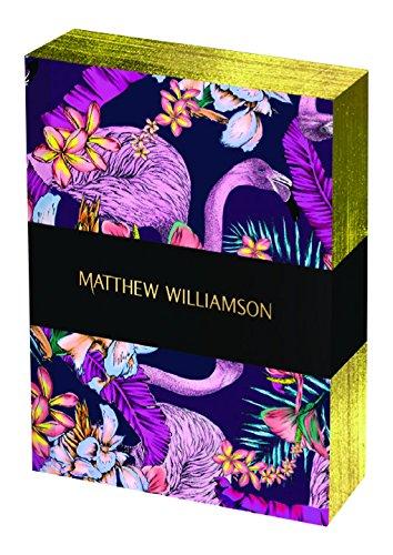 Museums & Galleries (MUT38) Matthew Williamson Deluxe Mini Notebook Set, Exotic - Matthew Home Williamson