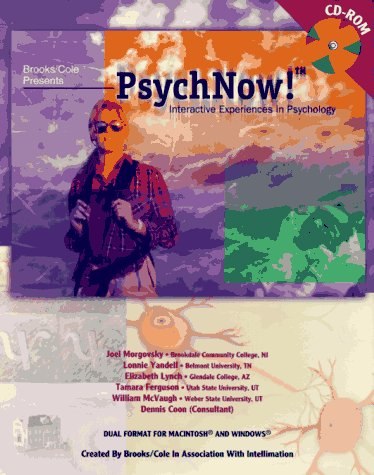 PsychNow! CD-ROM : Interactive Experiences in Psychology