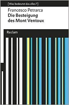 Book Die Besteigung des Mont Ventoux: (Was bedeutet das alles?)