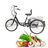 Product icon of Iglobalbuy 6 Speed Three Wheel Adult Tricycle Trike