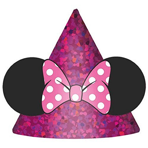 Minnie Mouse Party Hat - Minnie Mouse 'Happy Helpers' Mini Cone Hats (8ct)
