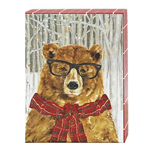 (Graphique Funny Bear Petite Boxed Cards (BH204))