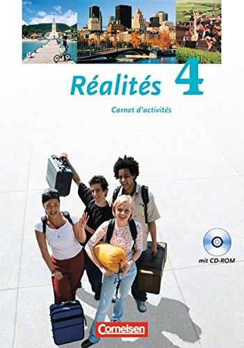 Réalités - Aktuelle Ausgabe: Band 4 - Carnet d'activités mit CD-ROM