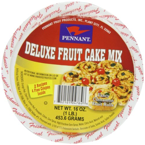 (Pennant Deluxe Fruit Cake Mix, 16 Ounce)
