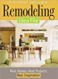 Remodeling Idea File, Better Homes and Gardens Books, 0696213540