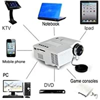 Home Cinema 1080P HD VGA HDMI LED Projector Mini Theater Multimedia USB AV TV JD