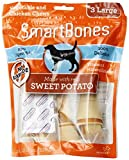 SmartBones Sweet Potato Dog Chew, Large, 3-count(2Pack) For Sale