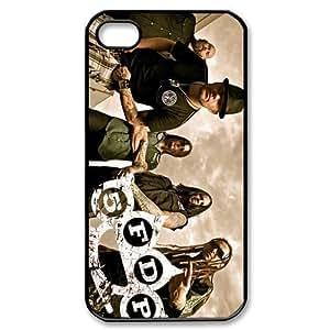 CTSLR Band Five Finger Death Punch Hard Case Cover Skin for Apple iPhone 4/4s- 1 Pack - Black/White - 4