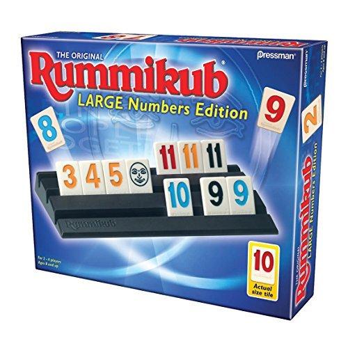 Rummikub Game Large Numbers Edition