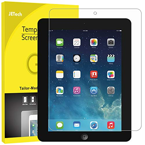 - JETech 0337- Screen Protector for Apple iPad 2 3 4 (Old Versions), Tempered Glass Film