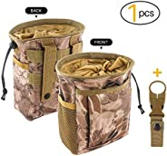 Drawstring Highend Rock Climbing Chalk Bag with a Carabiner Different Pockets for Climbing Bouldering, Gymnast
