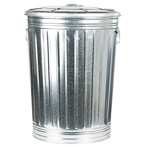 Omega Products Statewide Galvanized Trash Can 20 Gallon