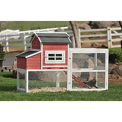 SummerHawk-Ranch-Vintage-Red-Barn-Chicken-Coop