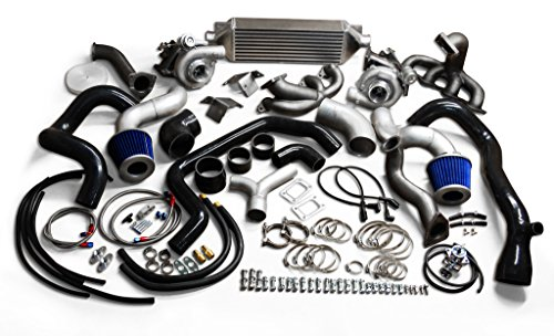 MMI GM VORTEC TWIN TURBOCHARGER KIT PACKAGE CHEVY GM 4.8L 5.3L 6.0L SILVERADO SIERRA - Twin Turbo Kit