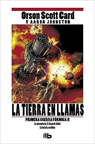 La tierra en llamas (Primera Guerra Fórmica 2): Amazon.es: Card ...