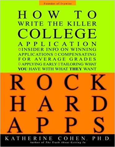 College application report writing 25th anniversary edition