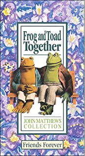 amazon com frog and toad are friends vhs arnold lobel hal smith