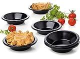 Set of 6 Round Cake pan Pie tins cheesecake tart quiche tartlet pans Baking size 3.9 inches
