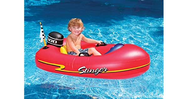 Amazon.com: Lancha inflable para niños para montar, 1 ...