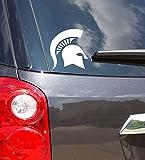 Classic Michigan State Spartan Helmet Vinyl Car Decal