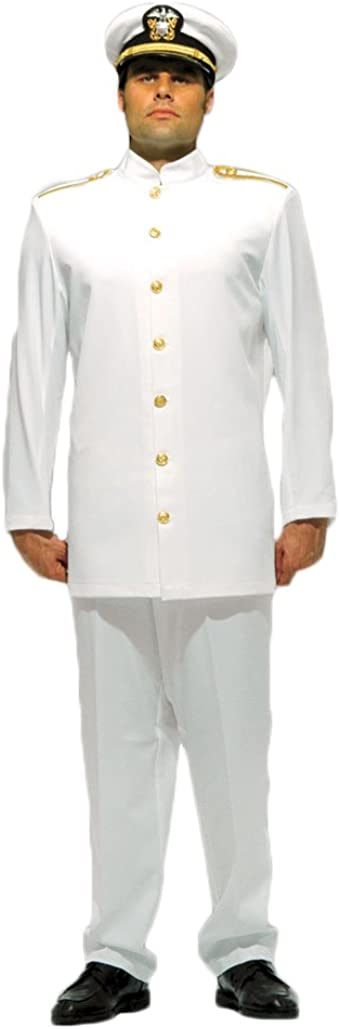 Men's US Officer Uniform Costume