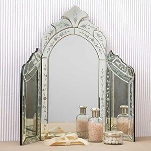 Two 39 S Company Venetian Style Dressing Table Mirror Amazon