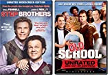 Will Ferrell Collection - Old School (Unrated Edition) & Step Brother (Unrated Widescreen Edition) 2-Movie Bundle