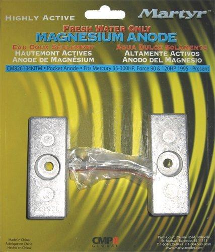 Martyr CM826134KITM, Magnesium Alloy Mercury Anode Kit