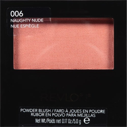 Revlon Powder Blush, Naughty Nude, 5g