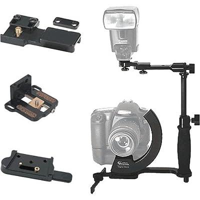 Image of Custom Brackets Digital PRO M Rotating Camera Bracket for Digital & 35mm Film Cameras. Camera Brackets
