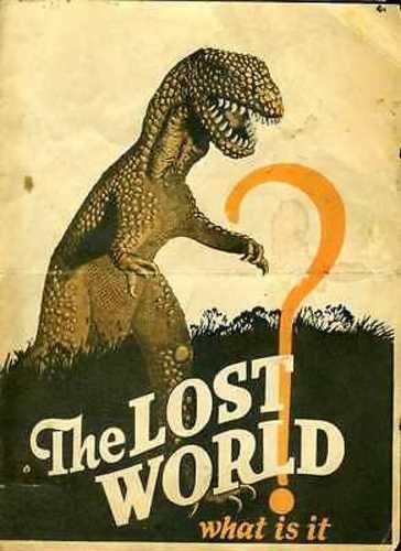 Willis H. O'Brien The Lost World 1925 Movie Herald #J5579