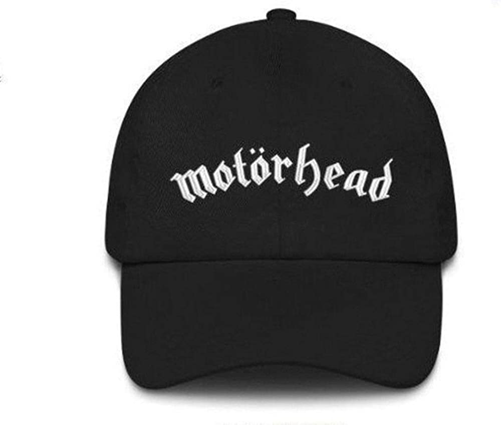 Motorhead Baseball Cap Band Logo Warpig brim new Official Black snapback One