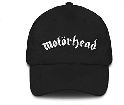 090df49c634 Image Unavailable. Image not available for. Color  Astral Threads Motorhead  Embroidered Black Cap ...