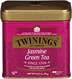 Twinings of London Jasmine Green Loose Tea Tins, 3.53 Ounce (Pack of 6)