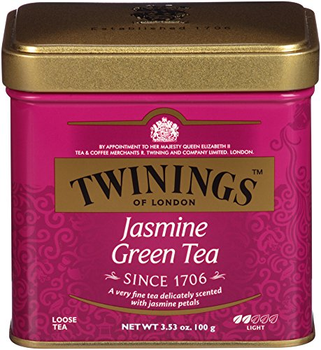 Twinings of London Jasmine Green Loose Tea Tins, 3.53 Ounce (Pack of 6) ()