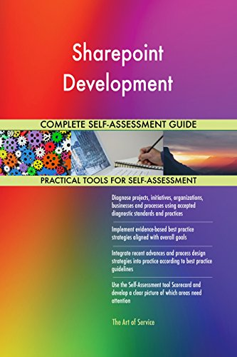Sharepoint Development Toolkit: best-practice templates, step-by-step work plans and maturity diagnostics