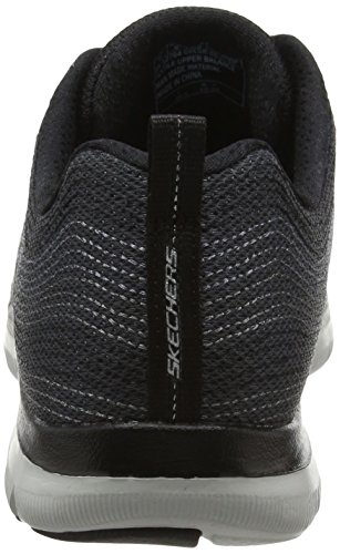 Metal Appeal Sportive Outdoor 2 Donna Nero Skechers Scarpe Flex 0 Madness qTOwHHxIf
