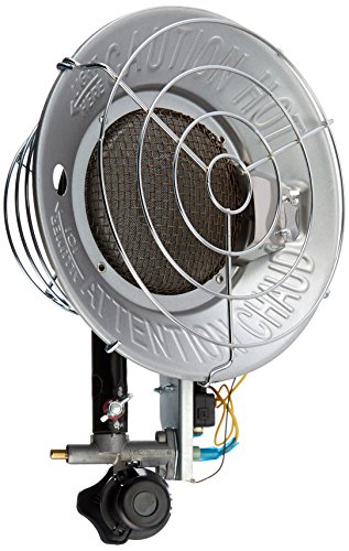 - Master MH-16-TTC LP Tank Top Heater, Variable Output, 16,000 BTU
