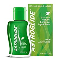 Astroglide Natural Feel Liquid - Water Based Personal Lubricant that Lubricates & Moisturizes - Long-Lasting, Condom-Compatible Lube Cleans Up Easily