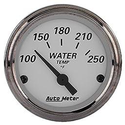 Auto Meter 1938 American Platinum Electric Water Temperature Gauge