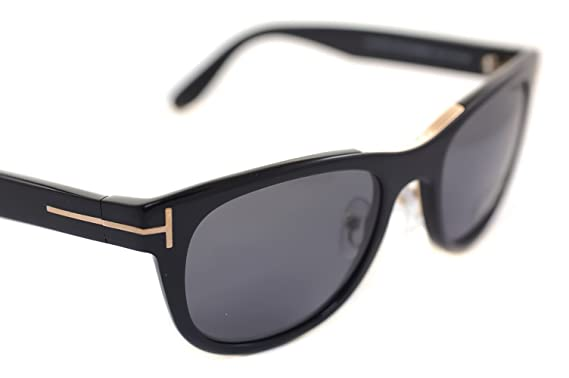 a6ea45b720ba Image Unavailable. Image not available for. Colour  Tom Ford  quot JACK  POLARIZED quot  TF45 FT0045 01D 51mm Mens Small Wayfarer Sunglasses BLACK